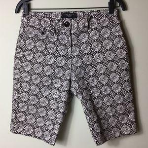 Talbots Petite Stretch Bermuda Shorts